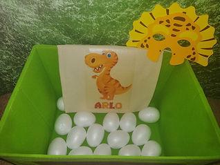 dinosaur disco party