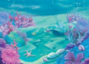 mermaid disco party