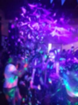 UV Glow Teen Disco