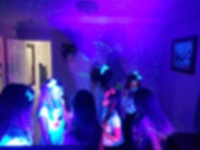 Teen UV Glow party