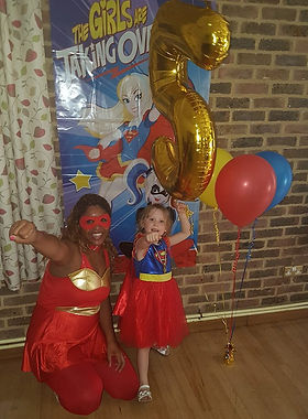 Kids Superhero Party