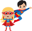kids superher party