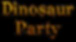 dinosaur theme party entertainer