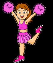 cheerleading party
