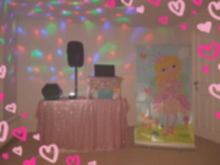Princess theme party