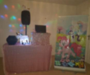 Unicorn theme party entertainer