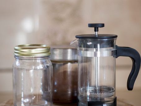 My easy way to make cold brew coffee