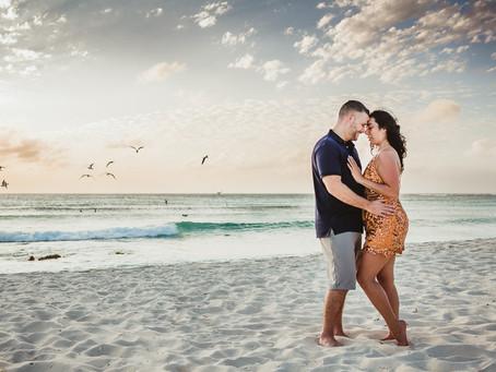 Aruba couple portrait session