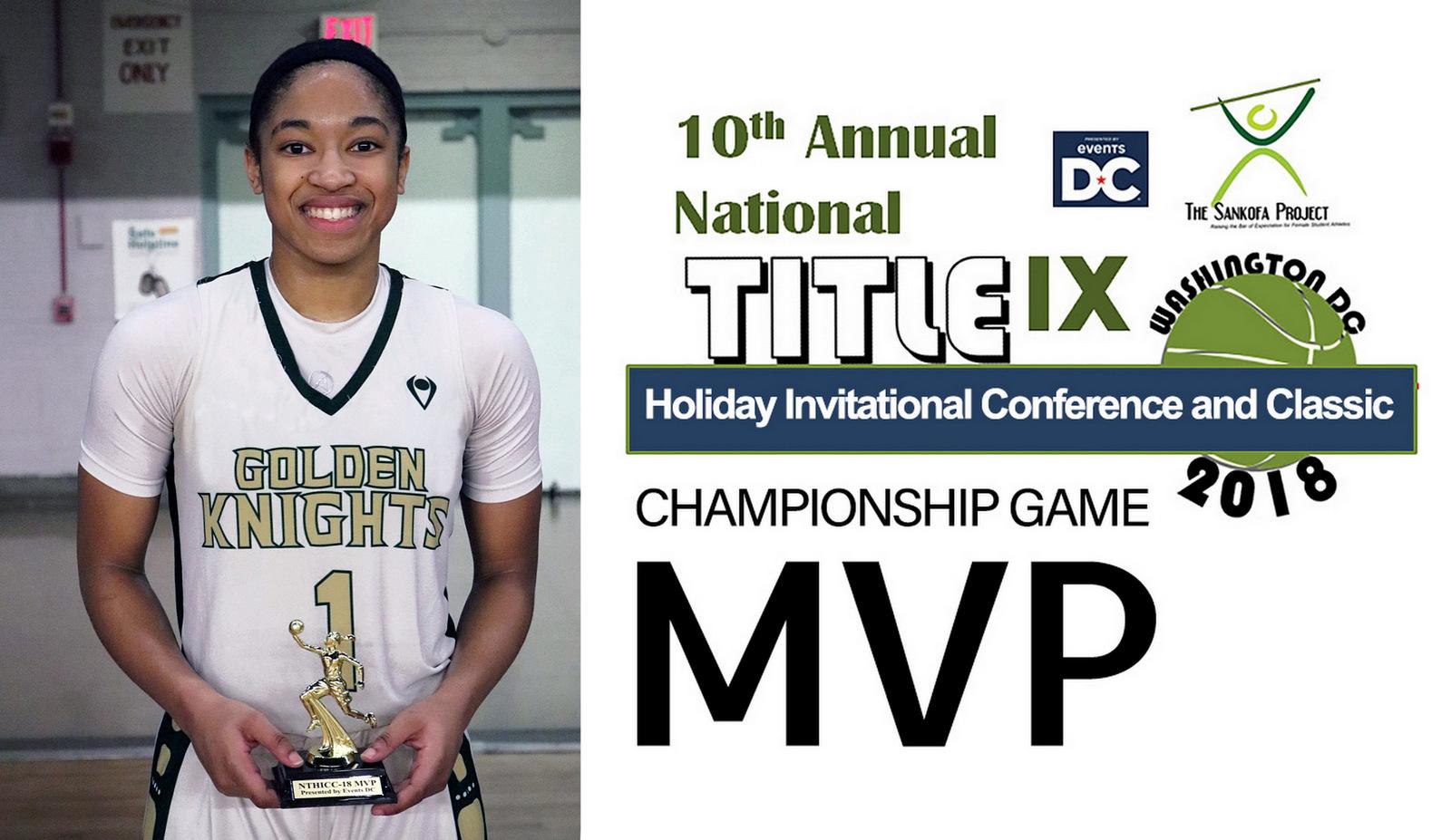 MVP: Title IX Holiday Classic