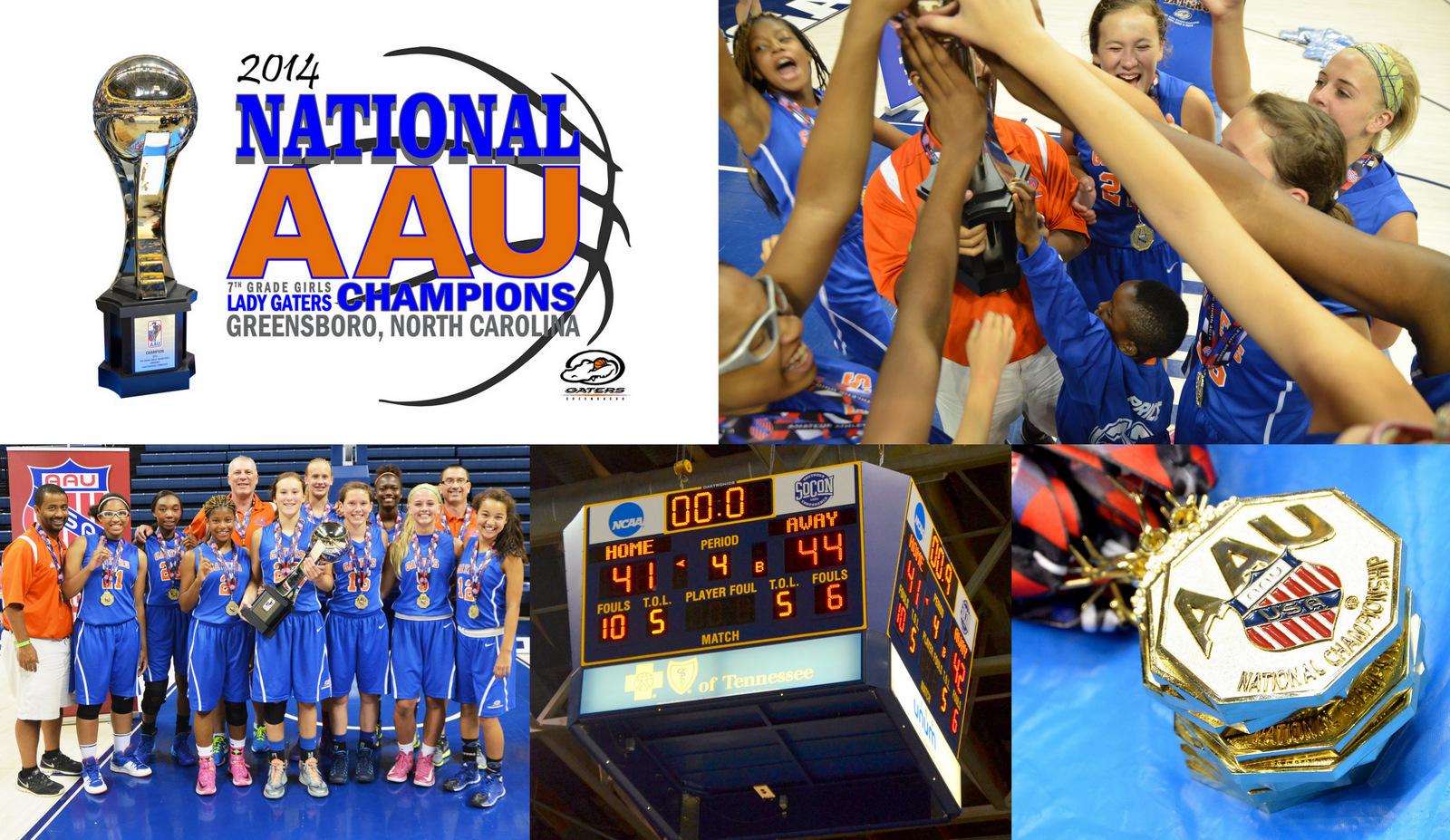 AAU National Champions 2014