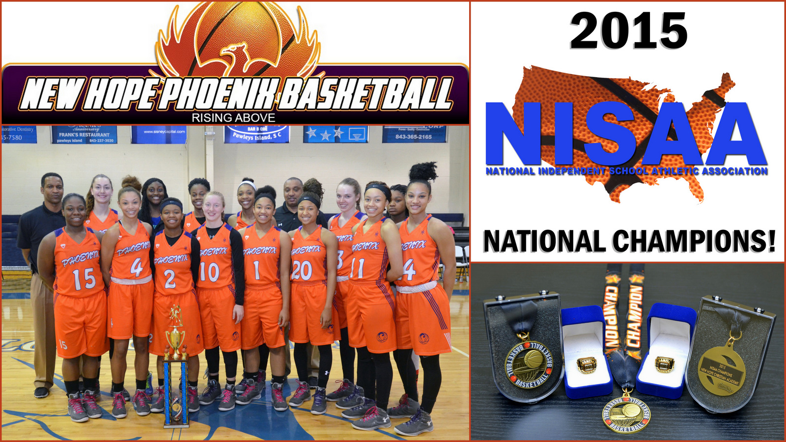 NISAA National Champions 2015