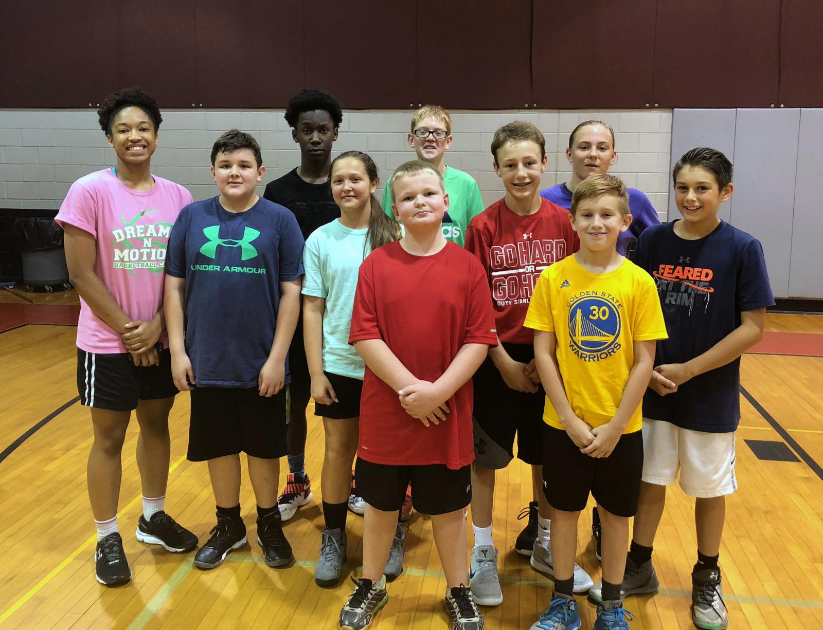 Dreams N Motion Basketball Camp
