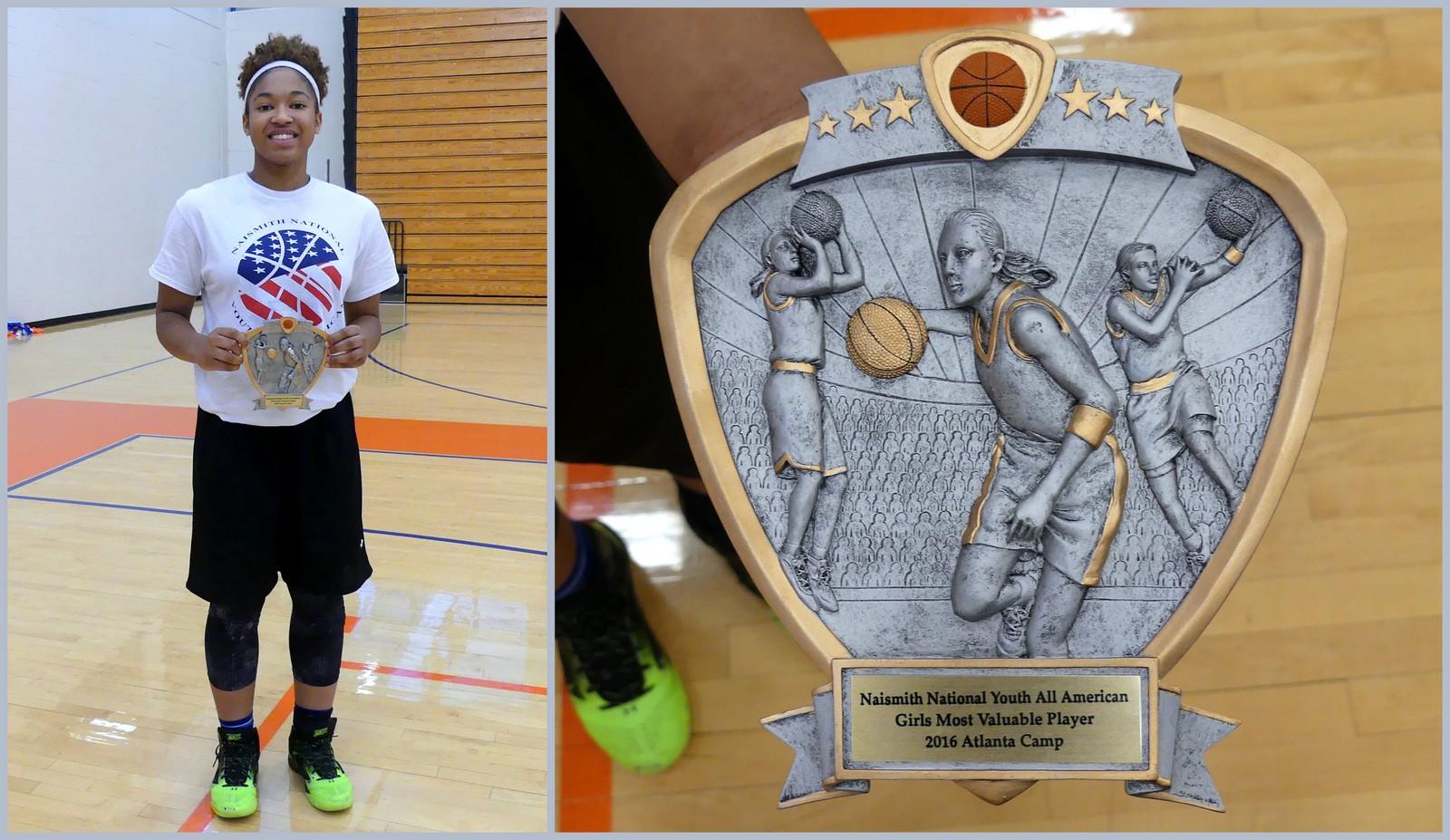 MVP: Naismith All-American Camp