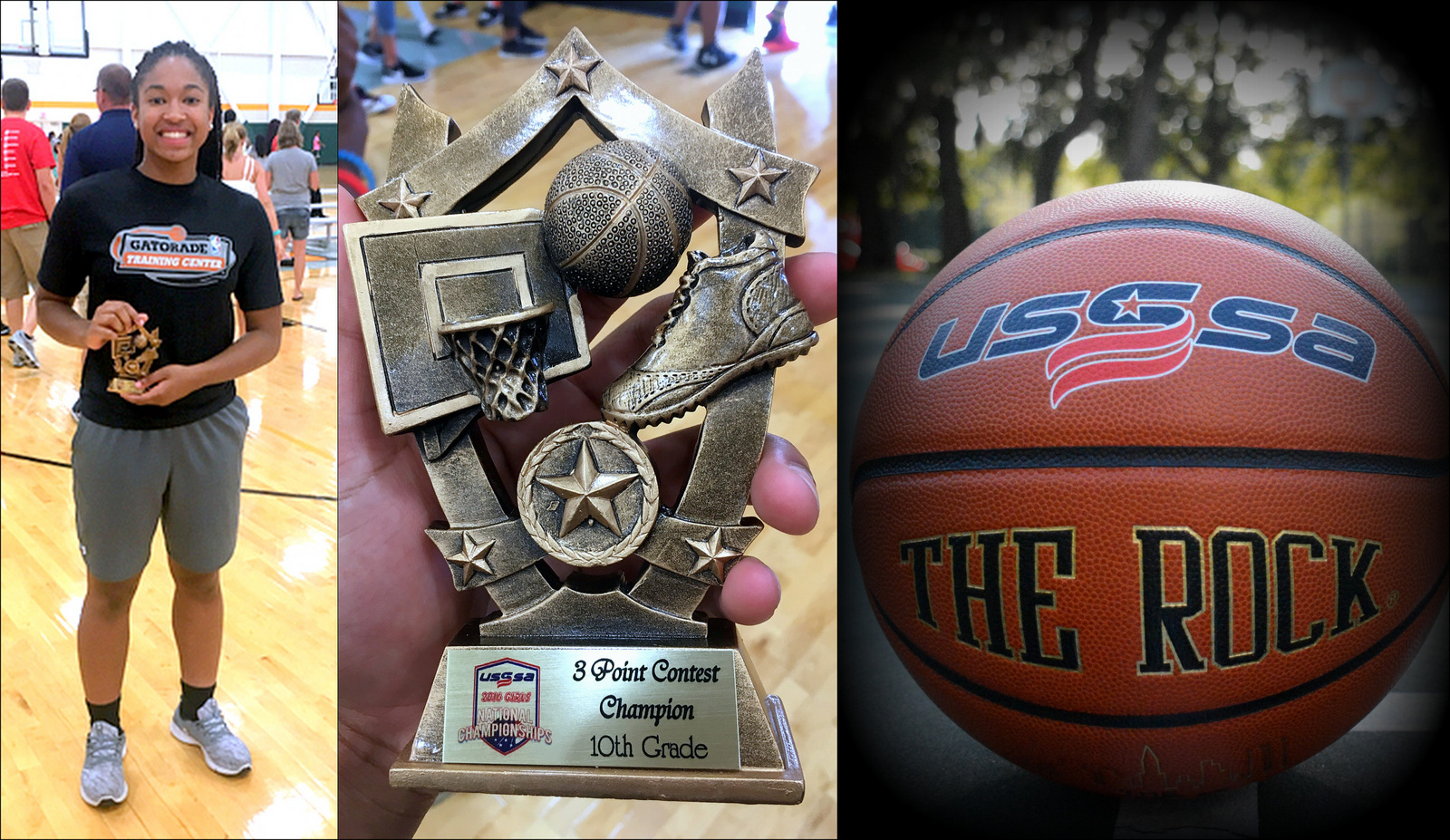 3 Pt. Champion: USSSA Nationals