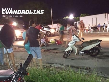 Casal fica ferido após sofrer colisão na BR 104 em Toritama