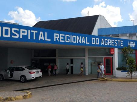 Paciente morre ao pular de janela no Hospital Regional do Agreste, em Caruaru