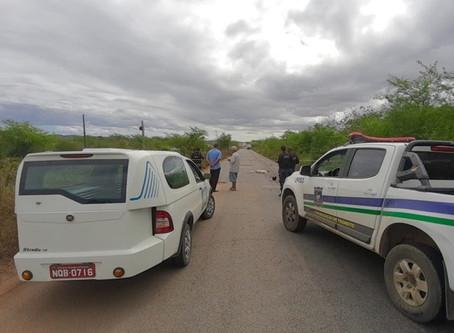 Homem morre em acidente na PE-160, em Santa Cruz do Capibaribe