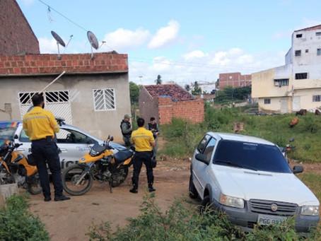 Veículo tomado de assalto em São Domingos é localizado em Toritama