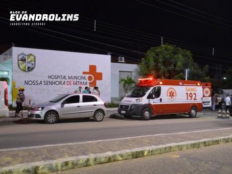 Motociclista dá entrada no Hospital de Toritama após grave acidente na BR 104