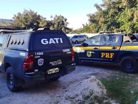 PM e PRF prendem 11 pessoas e resgatam gestante sequestrada em Gravatá