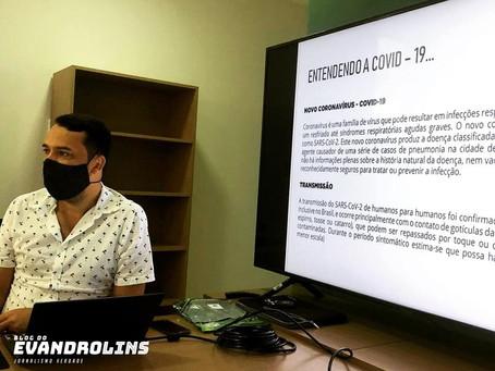 Pandemia - Prefeitura de Toritama promove treinamento com novas instruções para profissionais da saú