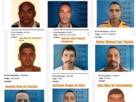 Vinte e sete detentos conseguiram fugir do presídio de Limoeiro; veja a lista