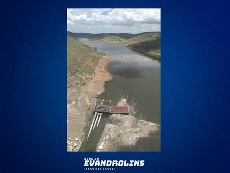 Barragem de Jucazinho tem aumento de 1% no volume de água