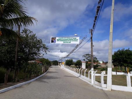 Prefeitura inaugura pavimentação da estrada da Vila São Benedito em Toritama
