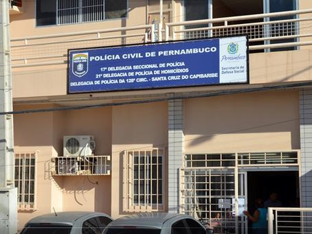 Homem é preso após agredir pai e mãe na zona rural de Taquaritinga do Norte