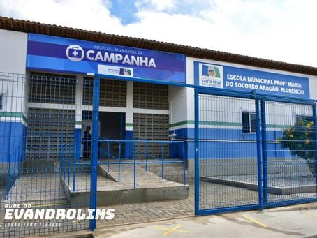 Santa Cruz do Capibaribe abre Hospital de Campanha nesta sexta-feira (01)