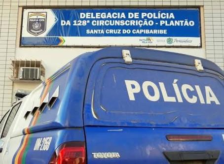 Homem é preso após agredir o pai de 91 anos em Santa Cruz