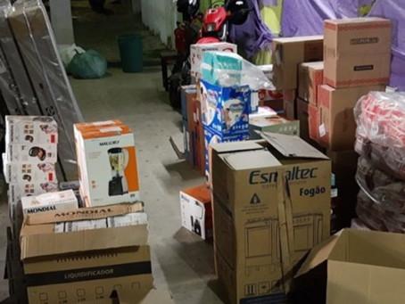 Quadrilha assalta caminhão com carga de eletrodomésticos no Lampião em Caruaru