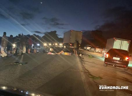 Duas crianças morrem e casal fica ferido em acidente no Agreste