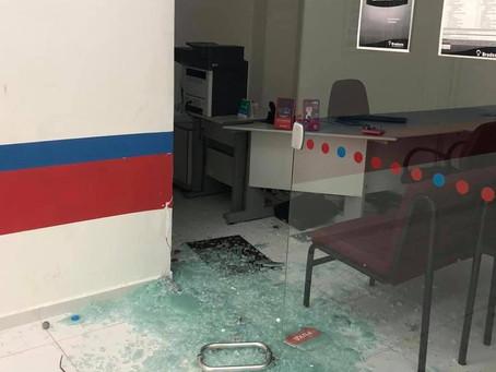 Agência bancária é arrombada, em Taquaritinga do Norte