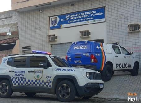 Homem é detido após ameaçar a mãe em Santa Cruz do Capibaribe