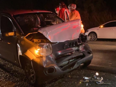 Prefeito afastado de Agrestina sofre acidente na BR-104
