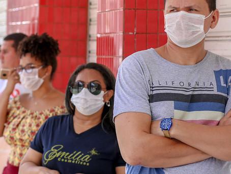 Decretado o uso obrigatório de máscaras em Pernambuco