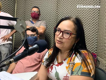 'Lado A ou B, é união por poder, a nossa união é por Toritama', diz pré-candidata Gerluce