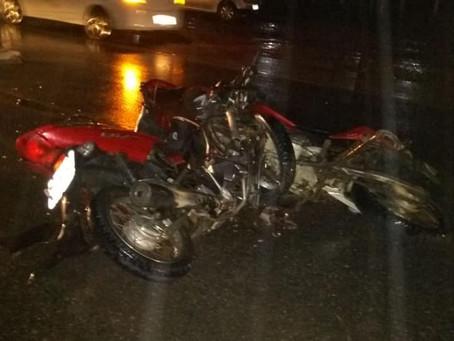 Colisão entre motocicletas deixa vítima fatal na PE 90 em Surubim