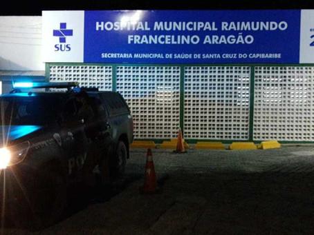Assaltante morre durante troca de tiros com a polícia em São Domingos