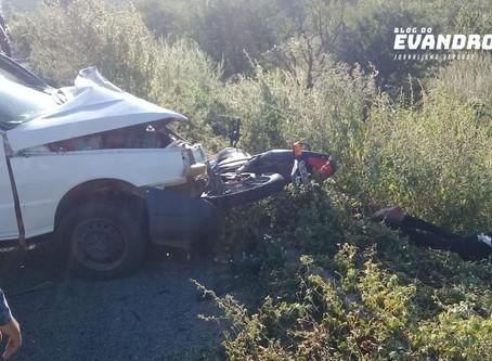 Motociclista morre após grave acidente na PE 160 em Jataúba