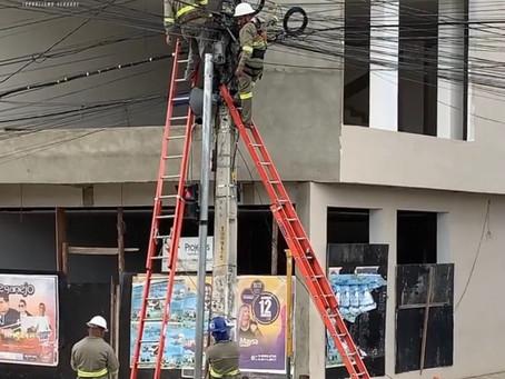 Celpe comunica que fará nova remoção de fios instalados irregularmente em Toritama