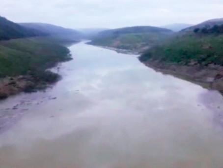 Após chuvas dos últimos dias, barragem de Jucazinho acumula 5,21% da capacidade
