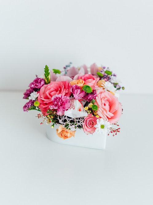 """Flower Box  – """"Twoje Serce"""""""