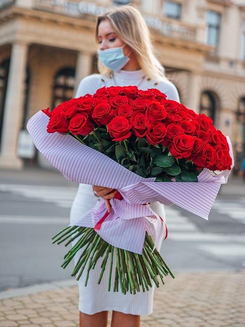 Bukiet XXL 101 róża