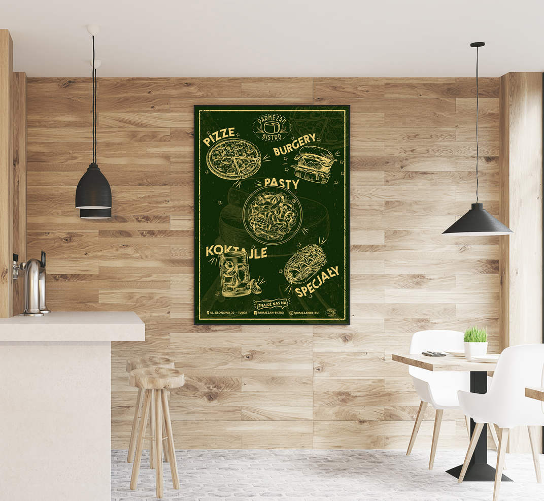 Free_Restaurant_Indoor_Wooden_Wall_Poste