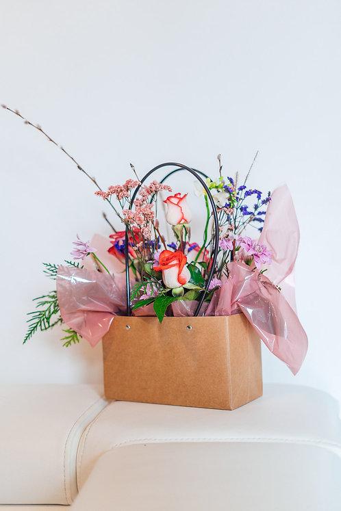 "Flower Box ""Wiosenna Torebka"""