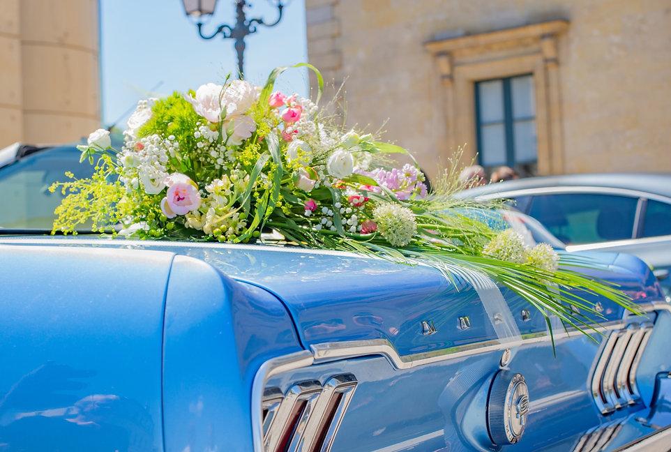 Dekoracje samochodów eliza flowers lubli