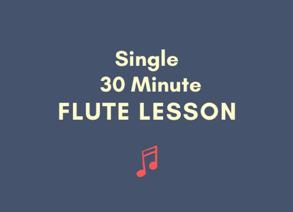 Single 30 Minute Lesson