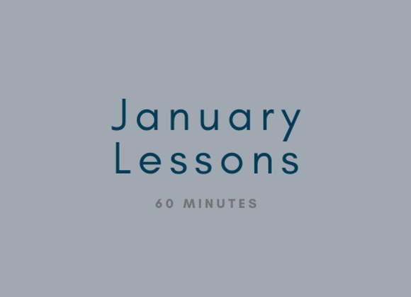 January: 60 Minute Private Flute Lessons